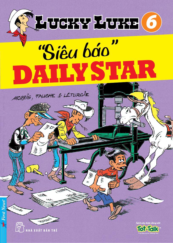 """Lucky Luke 6 - """"Siêu Báo"""" Daily Star - 8935086818442,62_29801,24700,tiki.vn,Lucky-Luke-6-Sieu-Bao-Daily-Star-62_29801,Lucky Luke 6 - """"Siêu Báo"""" Daily Star"""