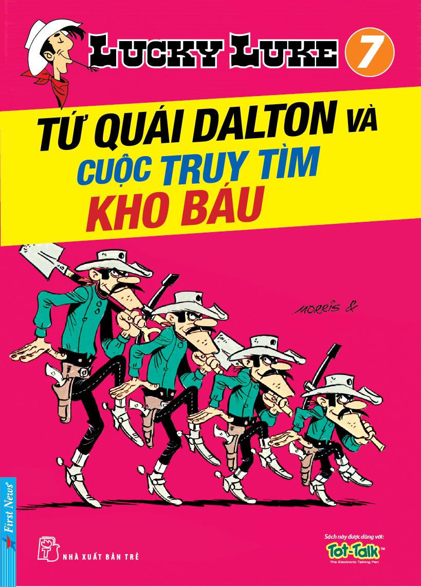 Lucky Luke 7 - Tứ Quái Dalton Và Cuộc Truy Tìm Kho Báu - 8935086818459,62_29927,24700,tiki.vn,Lucky-Luke-7-Tu-Quai-Dalton-Va-Cuoc-Truy-Tim-Kho-Bau-62_29927,Lucky Luke 7 - Tứ Quái Dalton Và Cuộc Truy Tìm Kho Báu