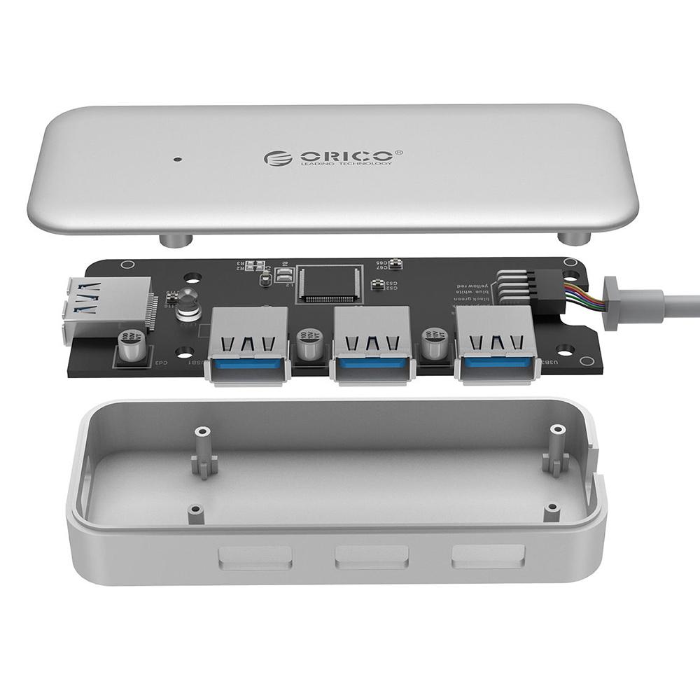Hub USB 3.0 Type C Orico 4 Cổng TC4U-U3 - Hàng Chính Hãng