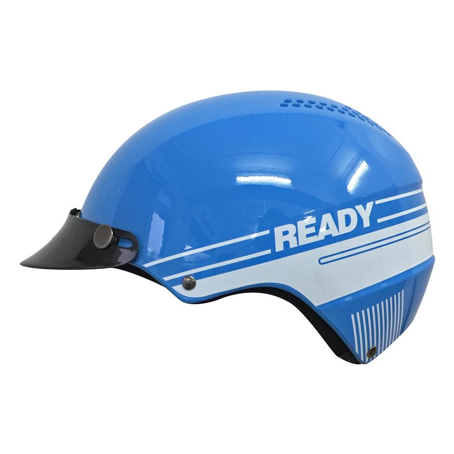 Mũ Bảo Hiểm Không Kính Protec Techno TELWF