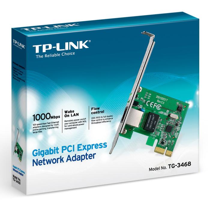 TP-Link  TG-3468 - Card Mạng Gigabit - Hàng Chính Hãng