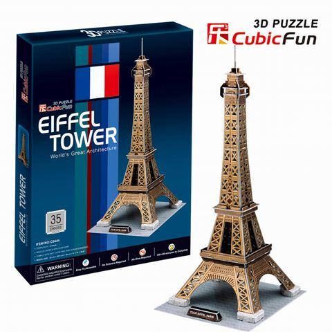 Mô Hình Giấy Cubic Fun: Tháp Eiffel [C044h]