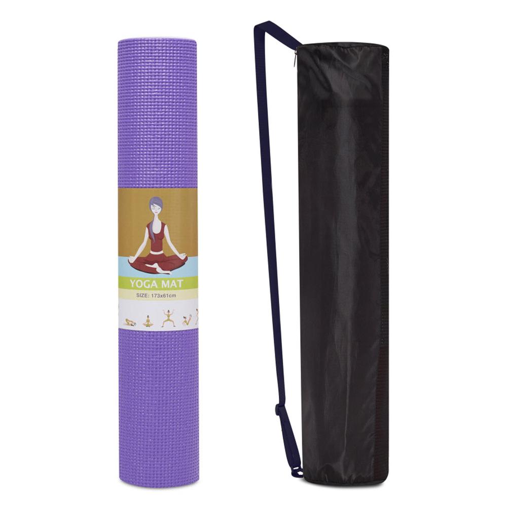 Thảm Tập Yoga 6mm ProMat - Tím (Kèm Túi Đựng)