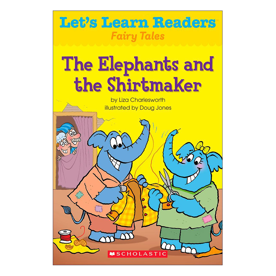 Lets Learn Readers: The Elephants And The Shirtmaker
