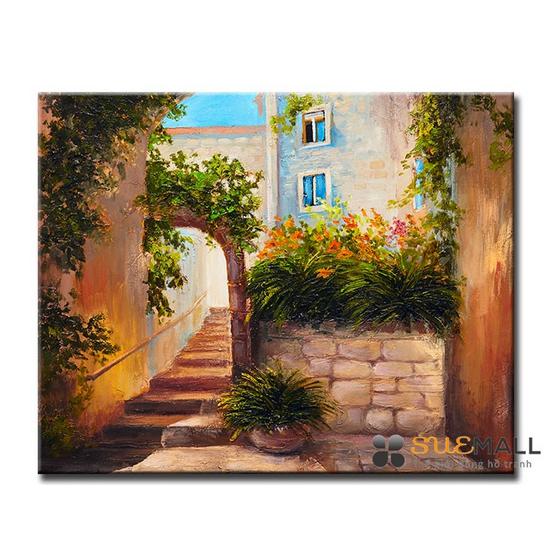 Tranh Treo Tường Canvas Suemall CV1408111 - Thềm Nhà