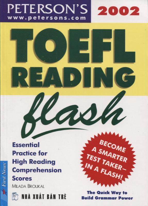 TOEFL Reading Flash - Chương Trình Luyện Thi TOEFL