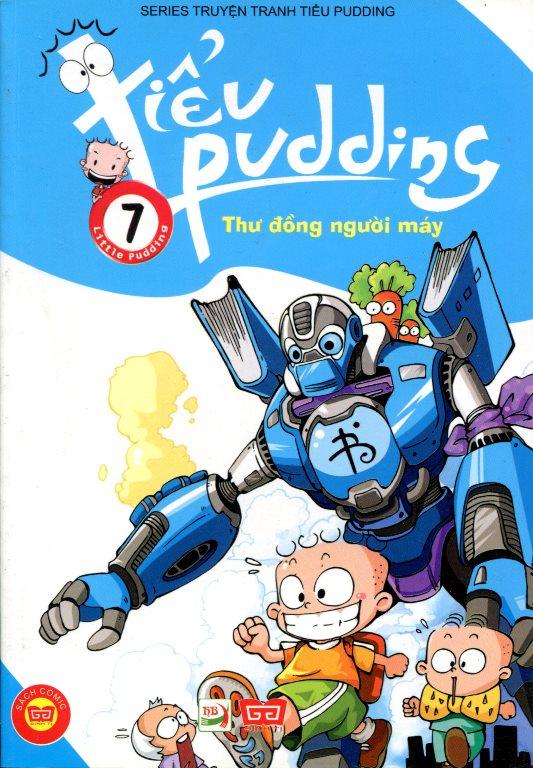Tiểu Pudding (Tập 7) - Thư Đồng Người Máy
