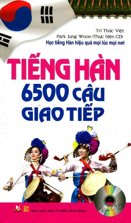Tiếng Hàn 6500 Câu Giao Tiếp (Kèm CD) - 2390597822726,62_620597,74000,tiki.vn,Tieng-Han-6500-Cau-Giao-Tiep-Kem-CD-62_620597,Tiếng Hàn 6500 Câu Giao Tiếp (Kèm CD)