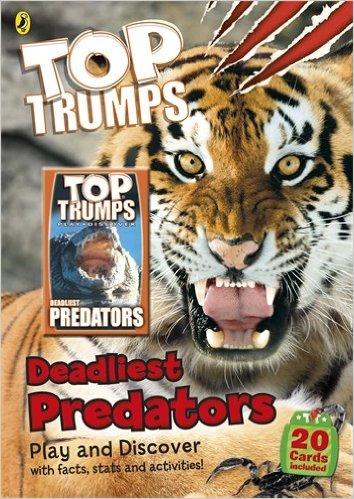Top Trumps: Deadliest Predators (Paperback)