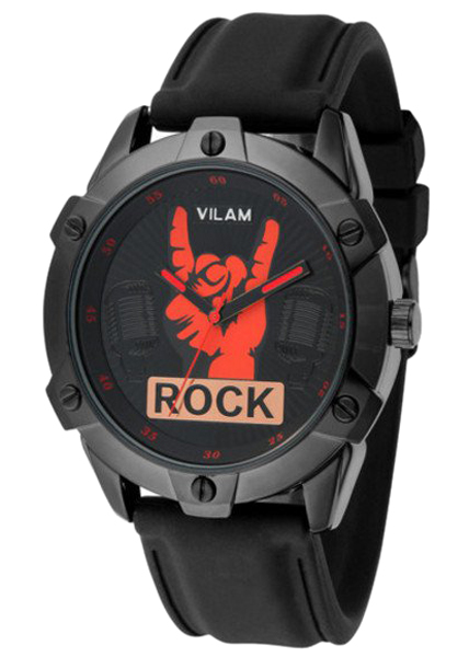 Đồng Hồ Nam Dây Plastic VILAM Rock TK415 - Đen - 5102838065314,62_725277,718000,tiki.vn,Dong-Ho-Nam-Day-Plastic-VILAM-Rock-TK415-Den-62_725277,Đồng Hồ Nam Dây Plastic VILAM Rock TK415 - Đen