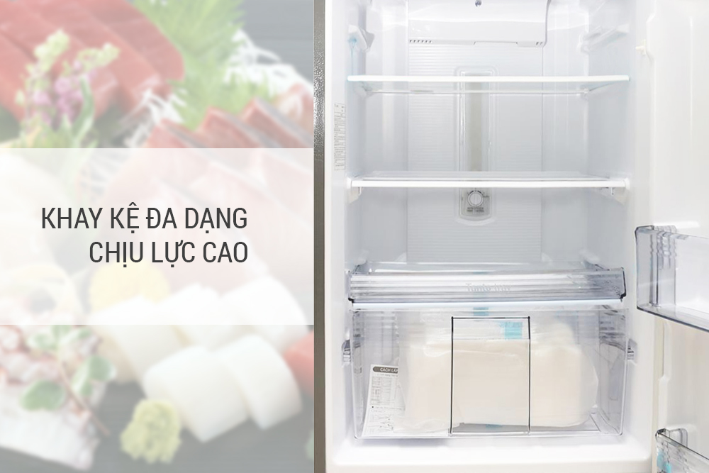 Tủ Lạnh Inverter Panasonic NR-BL267VSV1 (234 lít) - Bạc - Hàng chính hãng = 5.669.000đ