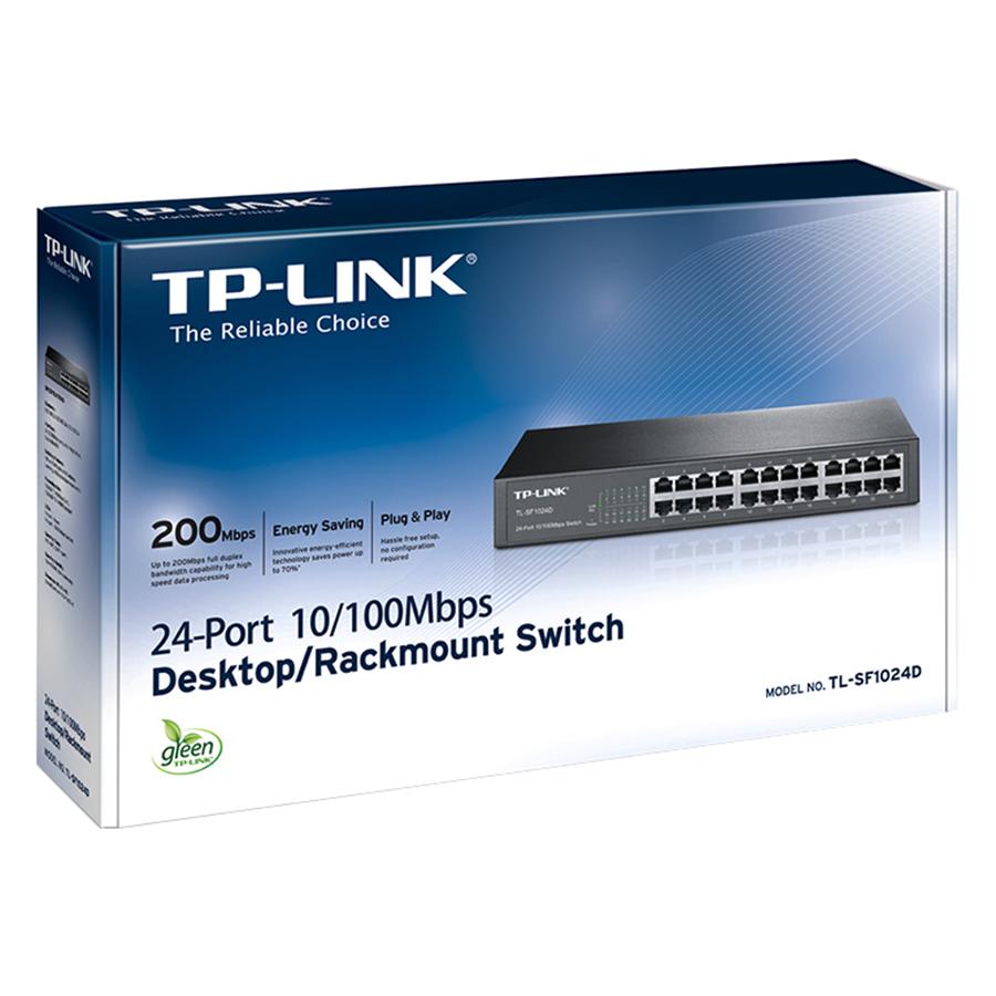 TP-Link  TL-SF1024D - Bộ Chia Mạng 24 Cổng - Hàng Chính Hãng
