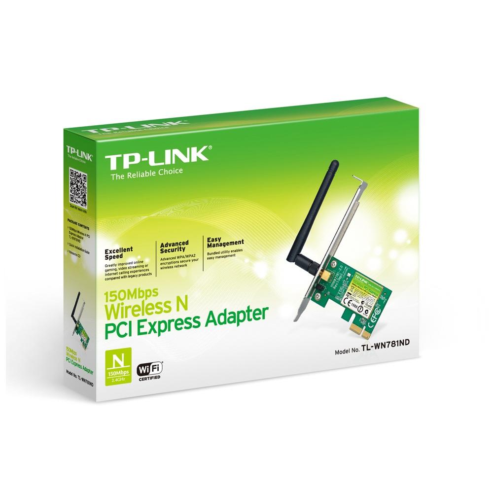 Card Mạng TP-Link  TL-WN781ND - Hàng Chính Hãng