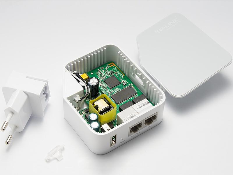 TP Link TL-WR710N - Router Mini Bỏ Túi Không Dây Chuẩn N Tốc Độ 150Mbps