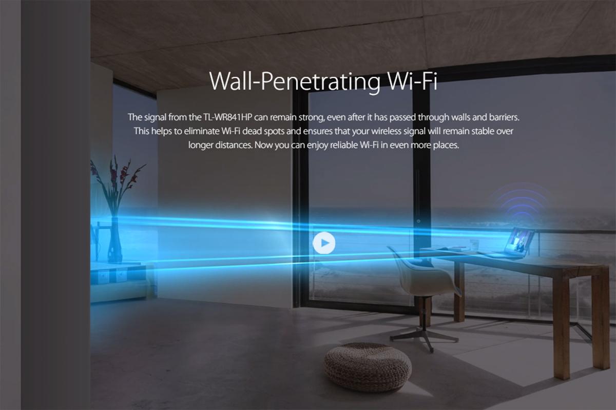 Wifi TPLink TL-WR841HP