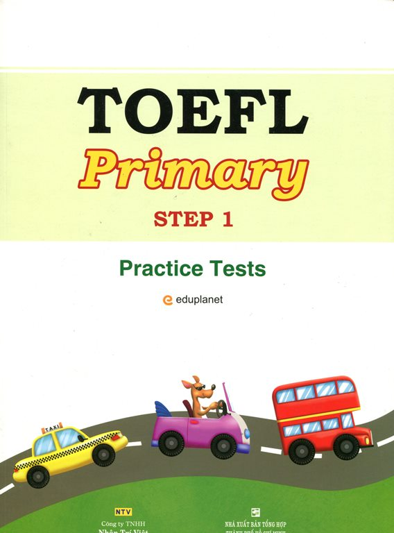 TOEFL Primary Step 1 - Practice Test (Kèm CD)