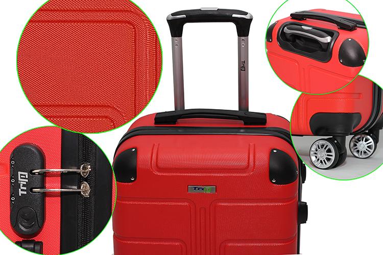 Vali Du Lịch Trip P701 (Size 60) - Đỏ