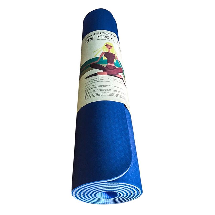 Thảm Tập Gym Và Yoga 2 Lớp TPE Eco (6mm) - 4793310561557,62_14978446,599000,tiki.vn,Tham-Tap-Gym-Va-Yoga-2-Lop-TPE-Eco-6mm-62_14978446,Thảm Tập Gym Và Yoga 2 Lớp TPE Eco (6mm)