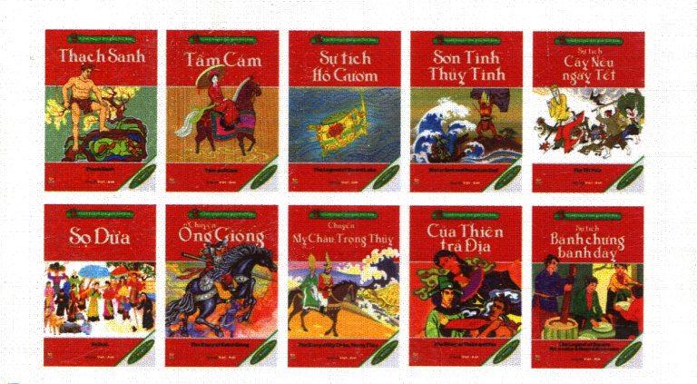 Việt Nam Folk Story – Tranh Truyện Dân Gian Việt Nam (Trọn Bộ 10 Cuốn)