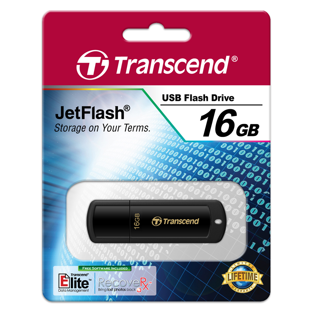 USB Transcend TS16GJF350 16GB - USB 2.0