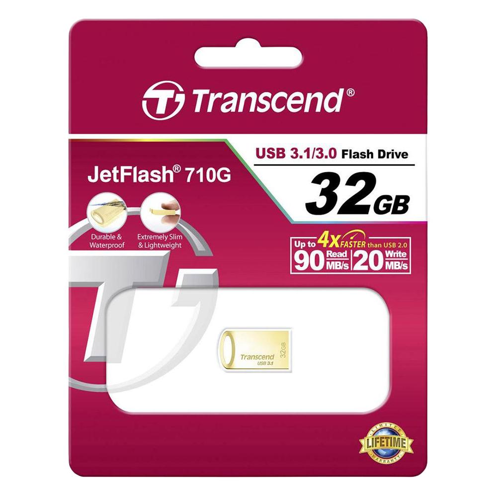 USB Transcend JetFlash TS32GJF710G 32GB - USB 3.1 - Hàng Chính Hãng
