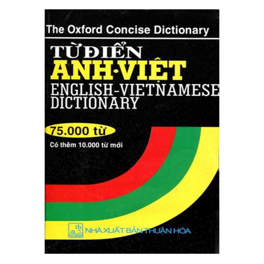 Từ Điển Anh Việt 75.000 Từ