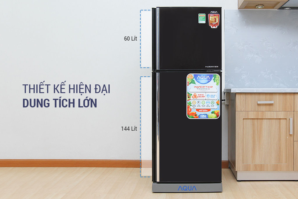 Tủ Lạnh Inverter Aqua AQR-I226BN (204L)
