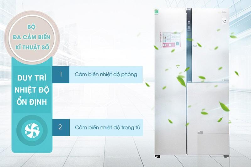 Tủ Lạnh Inverter LG GR-R267JS (629L)