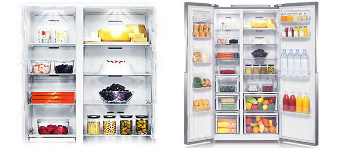 Tủ Lạnh Inverter Samsung RS552NRUASL/SV (584L)