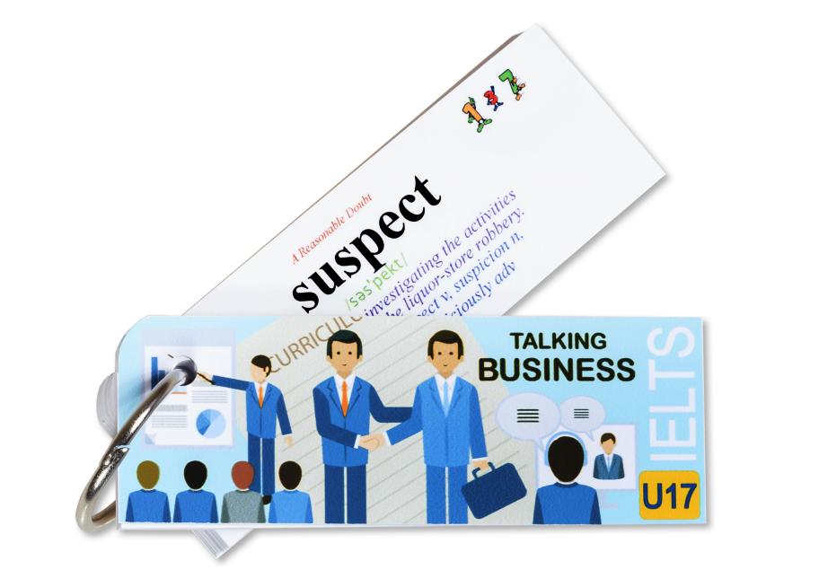Flashcard Talking Business Best Quality (U17)