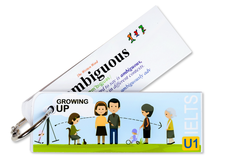Flashcard Growing Up Best Quality (U1)