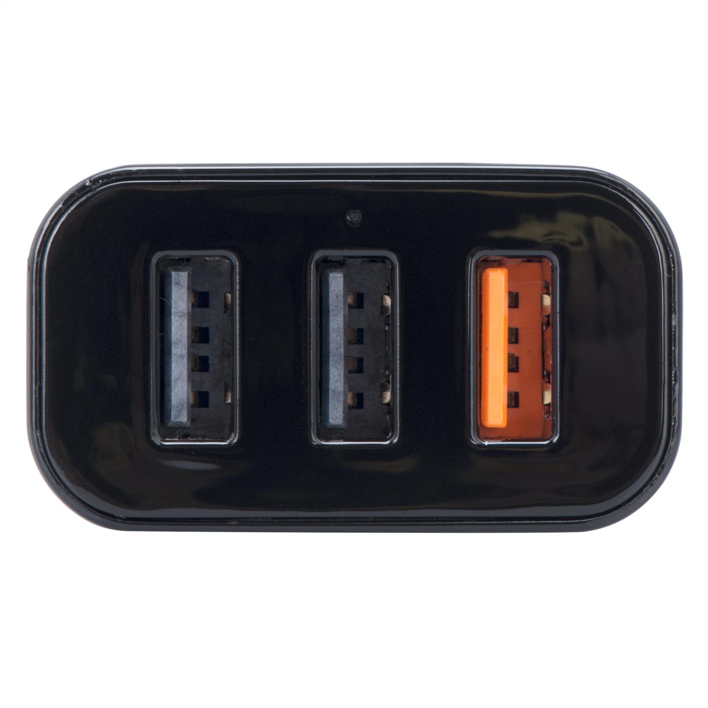 Sạc Xe Hơi Orico UCH-Q3 3 Cổng USB - Hàng Chính Hãng