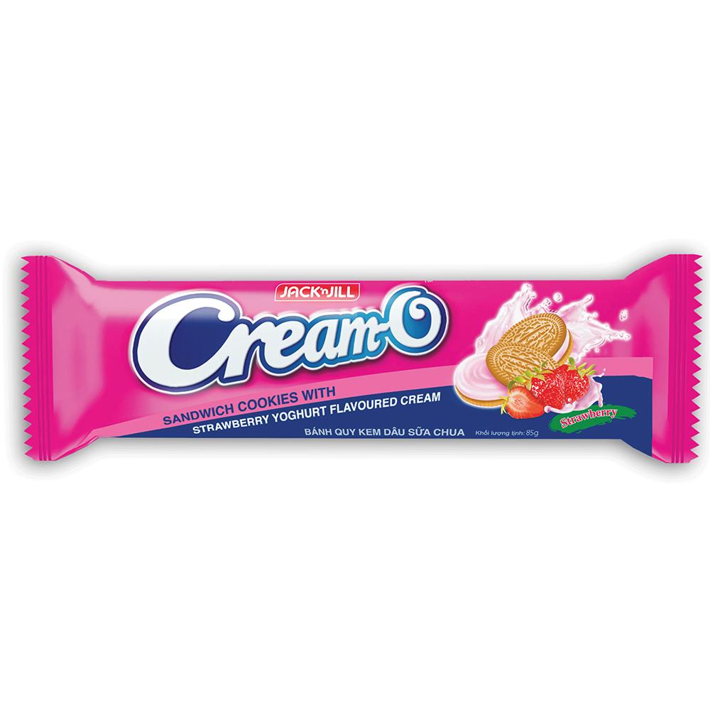 Bánh Quy Cream-O Cream-O Strawberry Yoghurt 85g - 8934564300899,62_177554,6500,tiki.vn,Banh-Quy-Cream-O-Cream-O-Strawberry-Yoghurt-85g-62_177554,Bánh Quy Cream-O Cream-O Strawberry Yoghurt 85g
