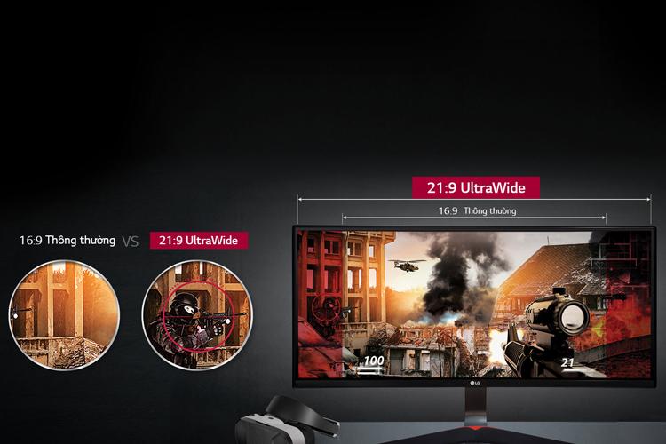 Màn Hình Gaming LG 34UC79G 34 inch 2K - Hàng Chính Hãng