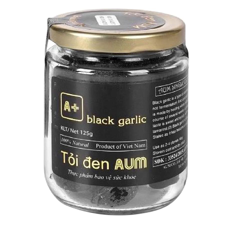 Thực Phẩm Chức Năng Tỏi Đen Lột Vỏ Hủ Thủy Tinh Black Garlic AUM (125g) - 6207982448422,62_5491129,220000,tiki.vn,Thuc-Pham-Chuc-Nang-Toi-Den-Lot-Vo-Hu-Thuy-Tinh-Black-Garlic-AUM-125g-62_5491129,Thực Phẩm Chức Năng Tỏi Đen Lột Vỏ Hủ Thủy Tinh Black Garlic AUM (125g)