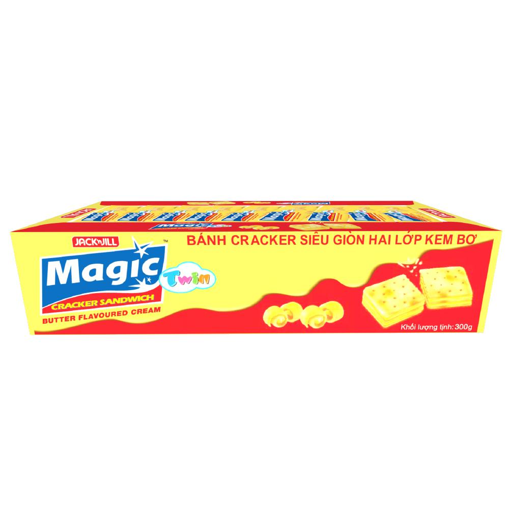 Bánh Quy Magic Twin Butter (15g x 20) - 8934564310409,62_171121,28000,tiki.vn,Banh-Quy-Magic-Twin-Butter-15g-x-20-62_171121,Bánh Quy Magic Twin Butter (15g x 20)