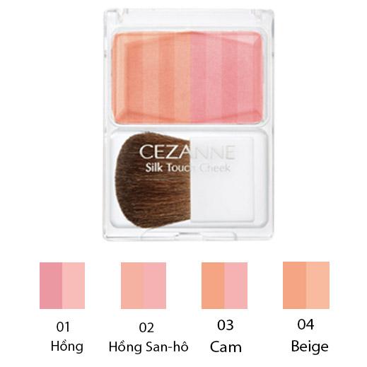 Phấn Má Silk Touch Cheek Cezanne (4g)