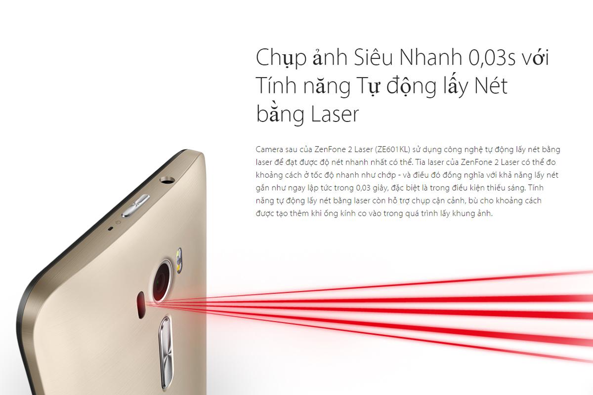 Asus ZenFone 2 Laser ZE601KL 16GB 3GB RAM