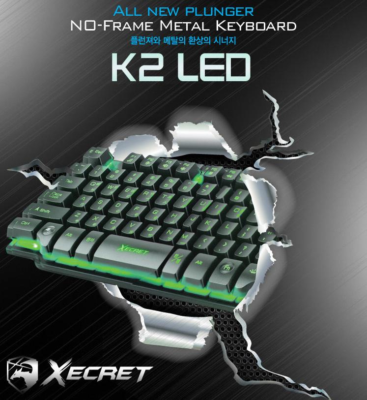 Bàn Phím Royche XECRET - K2 LED - Dành Cho Game Thủ