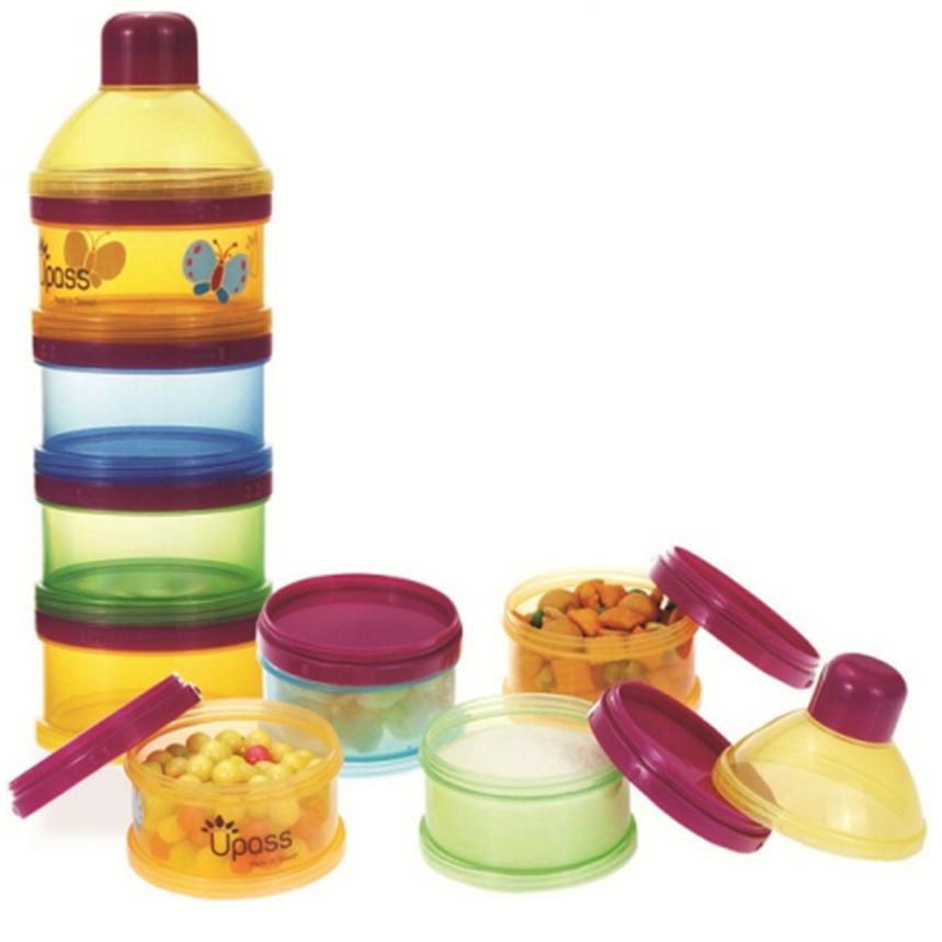 Hộp Đựng Sữa Bột 4 Ngăn Không BPA Upass UP8013C
