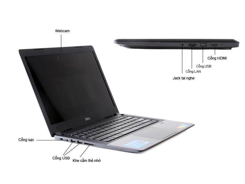 Laptop Dell Vostro V5480 VTI31008 Bạc