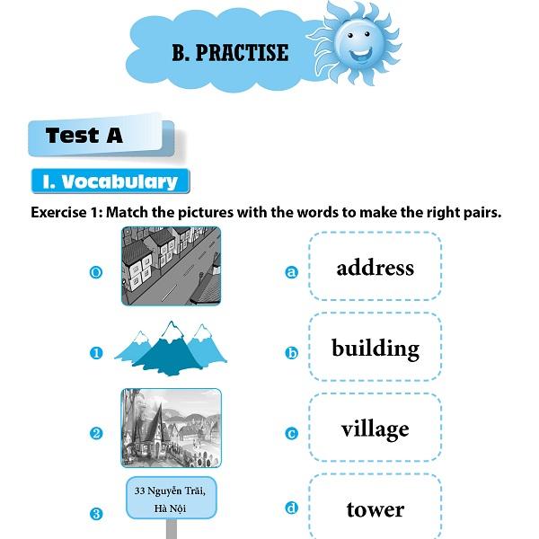 Hướng Dẫn Ôn Tập Và Kiểm Tra Tiếng Anh Lớp 5 (Tập 1)