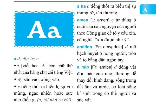 Từ Điển Tiếng Việt Thông Dụng Dành Cho Học Sinh (Bìa Cam)
