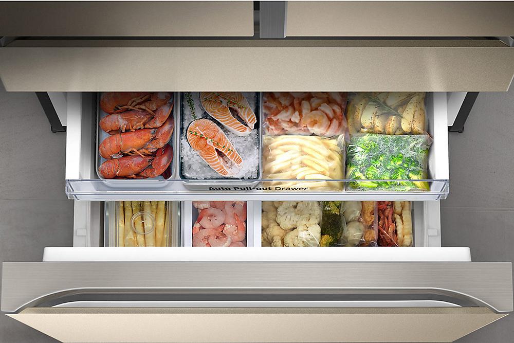 Tủ lạnh Inverter Multidoor Samsung RF50K5821FG (475L)