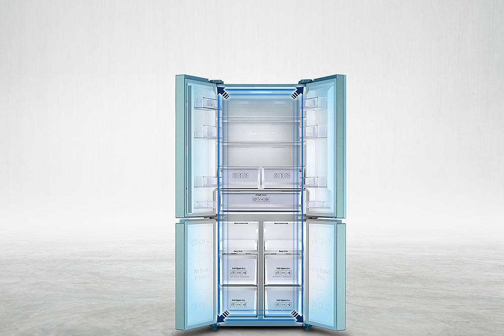 Tủ lạnh Inverter Multidoor Samsung RF50K5961DP (486L)