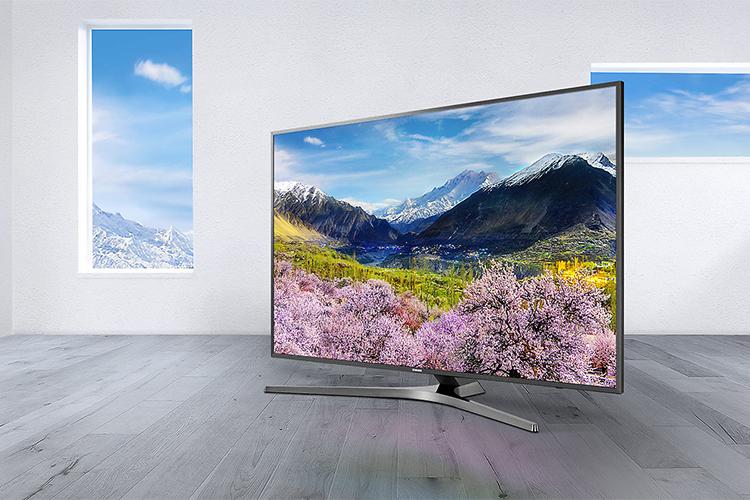 Smart Tivi Samsung 43 inch 4K UHD UA43MU6400KXXV - Hàng Chính Hãng