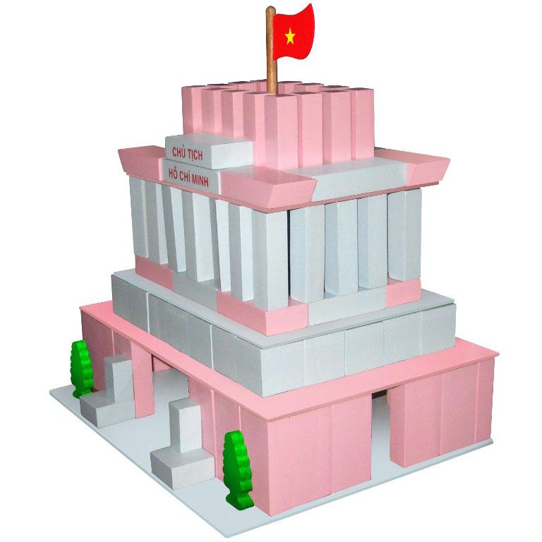 Đồ Chơi Gỗ Xếp Mô Hình Vietoys Hình Lăng Bác VT3P-0150 - 7800185357097,62_137015,662000,tiki.vn,Do-Choi-Go-Xep-Mo-Hinh-Vietoys-Hinh-Lang-Bac-VT3P-0150-62_137015,Đồ Chơi Gỗ Xếp Mô Hình Vietoys Hình Lăng Bác VT3P-0150
