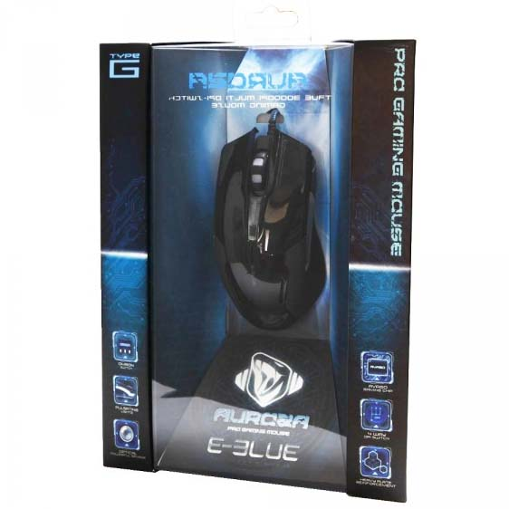 Chuột Có Dây E-Blue Auroza Type G EMS607BKAA-IU