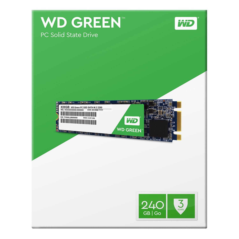 Ổ Cứng SSD M.2 WD Green 240GB - WDS240G1G0B - Hàng chính hãng