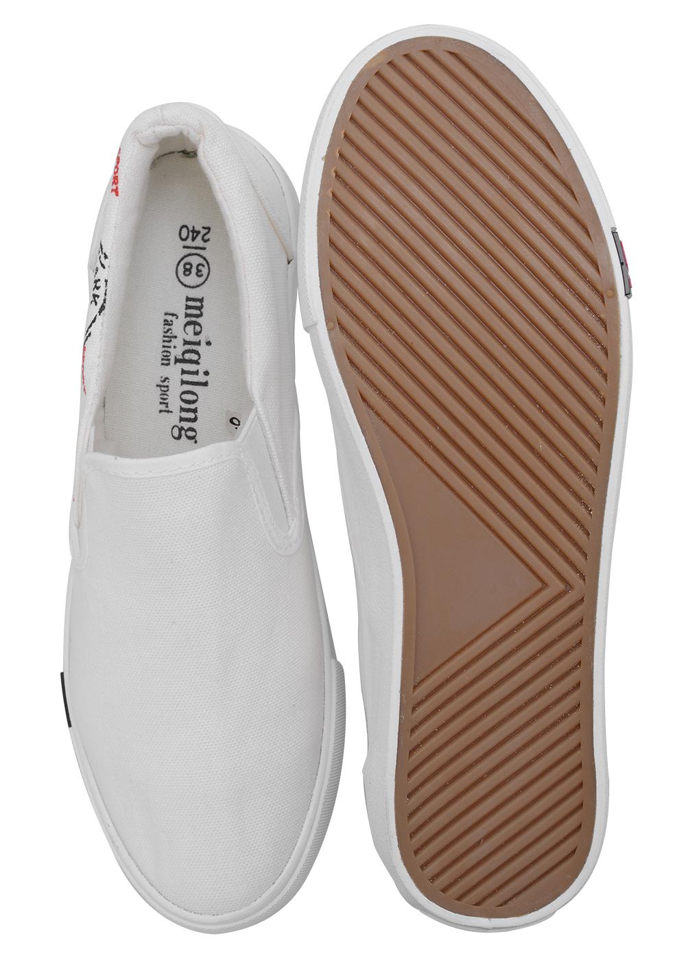 Giày Slipon Nữ AZ79 WNTT100401 - Trắng
